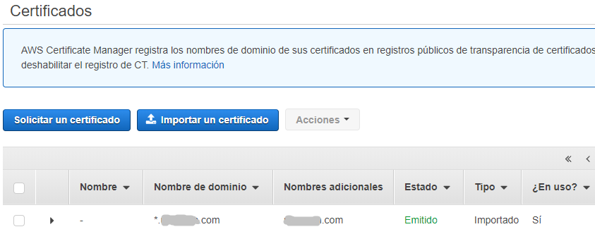 Certificado disponible